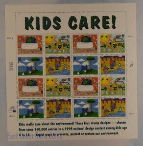 US SCOTT 2951 -  54 PANE OF 16 KIDS CARE 32 CENT FACE MNH