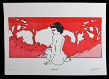 DJOHAN HANAPI signée SNOW WHITE Risograph ed/10 + STICKER shepard fairey banksy