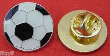 Football Soccer Ball Lapel Hat Cap Tie Pin Badge Brooch