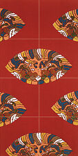 Art Chinese Patterns Colorful Kitchen Mural Ceramic Tiles Home Decor Tile #2509