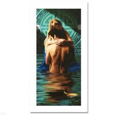 """Love""  Chris Dellorco Disney    Limited Edition  Giclee  Canvas COA Nude"