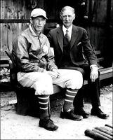 Connie Mack & Lefty Grove Photo 8X10 A's 1931 B&W - Buy Any 2 Get 1 FREE