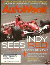 AUTOWEEK Weekly Magazine - July 10, 2006 - Schumacher wins USGP