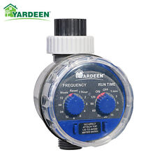 Ball Valve Water Tap Timer Automatic Electronic Garden Irrigation Controller