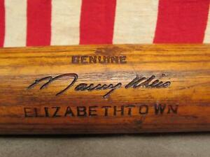 "Vintage Louisville Slugger Maury Wils Baseball Bat Elizabethtown College,PA. 35"""