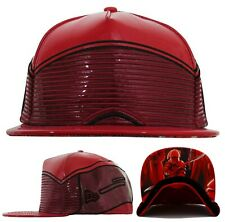Star Wars New Era 59Fifty The Last Jedi Leather Praetorian Red Fitted Hat Cap
