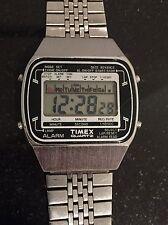Vintage Timex K-Cell LCD Quartz Watch Alarm Chronograph Uhr Montre Reloje