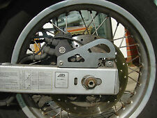 Resistente carreteras-Bmw F650gs & G650gs-Negro Cadena & Abs Sensor guardias - 1093