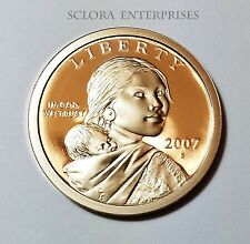 2007 S SACAGAWEA *PROOF* DOLLAR COIN  **FREE SHIPPING**