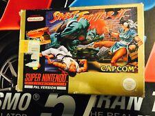 Street Fighter Super Nintendo PAL