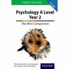 The Complete Companions for AQA A Level Year 2 Psychology The Mini Companion