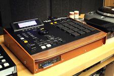 """Akai MPC 2000XL Custom """"Black Modular"""" Phenolic & Walnut Bezel"""