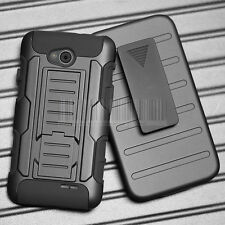 Shockproof Armor Hybrid Rugged Stand Case Cover For LG Optimus L70 D320 MS323