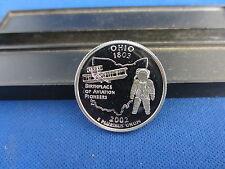 2002-S Silver Ohio Quarter Deep Cameo Mirror Proof - Upper Grading Ranges
