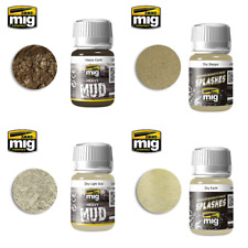 Ammo by Mig Earth and Mud Effects (Choose your Colour)