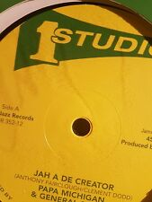 "Studio one 12""Jah a de creator Papa mitchigan/ rebel  Disco ins General smiley"