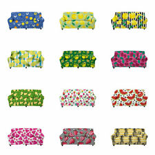 Fruits Print Sofa Slipcover Couch Cover Protector Seat Cover Soft Washable Decor
