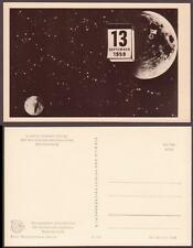 "Space Propaganda photo PC 1961. Moon Probe ""Luna 2"" Lunar Impact"