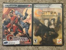 Contra: Shattered Soldier & Neo Contra PlayStation 2 PS2 Lot - Both CIB Working!