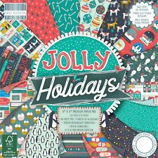 Premium Cardstock First Edition 6x6 Designer Paper Pad - Jolly Holidays