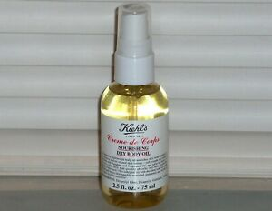 KIEHL'S Creme de Corps Nourishing Dry Body Oil, Spray, 2.5 oz., 75 ml, NEW