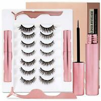 Magnetic Eyeliner And Eyelashes Kit 7 Pairs High Grade Design Easy-to-Use