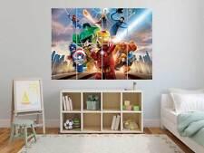 LEGO MARVEL AVENGERS   Poster Grand format A0 Large Print 02 ROOM KIDS
