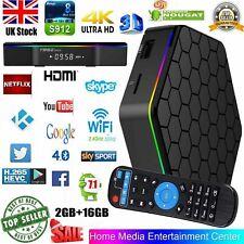 T95Z PLUS 16GB 2GB Dual Wifi 5G Amlogic S912 Android 7.1 Bluetooth 4K TV Box