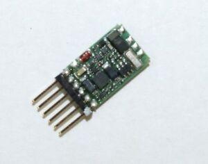 Lenz 10311-02 DCC Digital Decoder Silver Mini 6 Pole New