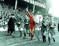 Ron YEATS Signed Autograph Liverpool 10x8 Photo C AFTAL COA