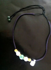 Choker Gemstone Jade Costume Necklaces & Pendants