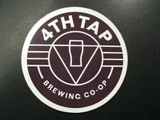 4TH TAP BREWING COOP fourth Austin Texas STICKER decal craft beer brewery