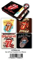 Rolling Stones - Coasters Set Of 4 In Sleeve-HMBCSTRS02
