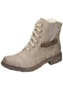 Rieker 74242-64 Stiefel Stiefeletten Boots Damen Schuhe beige 36-42 Neu12