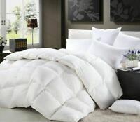 Pure Quality Hungarian 100% Down Luxury Goose Down Duvet Quilt 13.5 Tog +Pillows