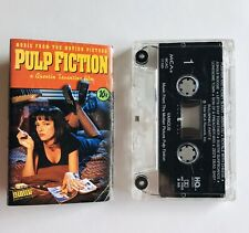 Pulp Fiction Soundtrack Cassette Tape Tested 1994 MCA Quentin Tarantino