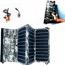 Sunpower solar 12V 27w Portable Folding Battery Charger  mp3 iphone car motor