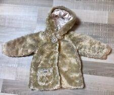 Confetti  2 Ans Fille : Manteau beige fausse fourrure Hiver BE
