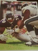 harry swayne signed 8x10 autographed photo picture baltimore ravens nfl football