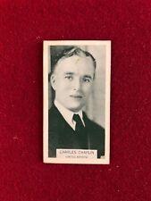 "1933, Charlie Chaplin, ""UNITED ARTISTS"" Card (Scarce) ""The Little Tramp"""