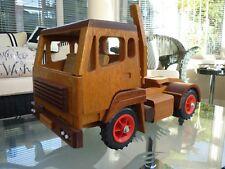 Hand Made Wooden Truck & Trailer