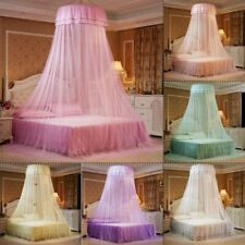 Lace Princess Dome Mosquito Net Mesh Bed Canopy Bedroom Home Decor,.