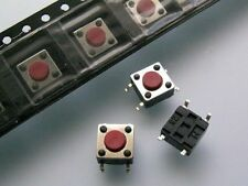 10 Stück SMD-Taster TSSA-3LTact Switch W/L=6x6mm H=4,3mm TSSA3L  (M3776)