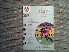 Programm 1 FC Kaiserslautern - VfB Stuttgart 01/02