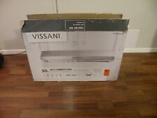 "Vissani 30"" Under Cabinet Kitchen Range Hood Stainless Steel"