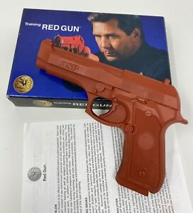 ASP® 07351 RED GUN POLICE PRACTICE TRAINING AID - BERETTA 96 D 40 CAL. - REPLICA