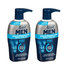 2 Pack - Nair Men Hair Removal Body Cream 13 oz (368 g) Each