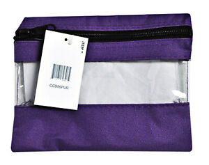 Craft Caddy Bag 8 Inch By 6 Inch Purple