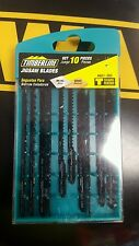 TIMBERLINE 601-360 COMPLETE 10 PC T-SHANK JIG SAW BLADE SET