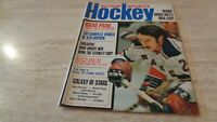 October, 1972 Action Sports Hockey Magazine - Brad Park - NY Rangers Cover - EX+